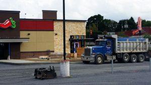 commercial asphalt paving